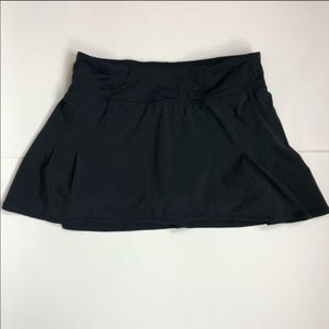 Black lululemon tennis skirt